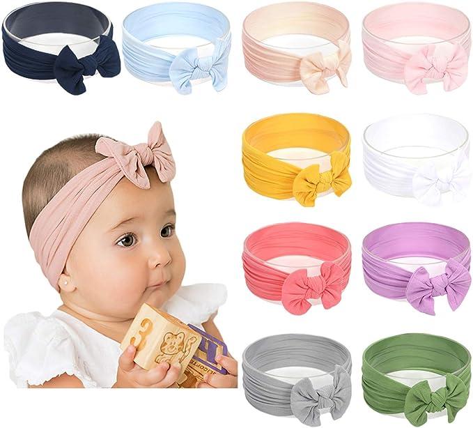 Canvas Knot Headband Knot Headband Baby Nylon Headband Canvas Baby Headband Baby Headband Nylon Knot Headband Baby Knot Headband
