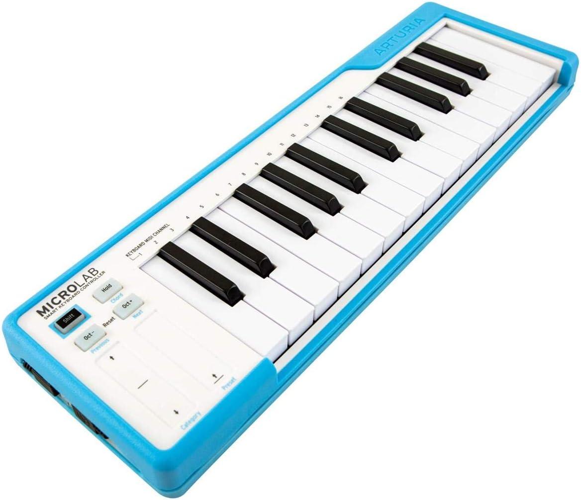 Arturia MicroLab Blue - Teclado controlador de 25 teclas ...