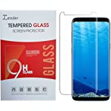 Galaxy S8 Plus Tempered Glass Screen Protector, 3D Curved Case Friendly Edge to Edge Crystal Clear Full Coverage Protective Film Cover for Samsung S8+ Smart phone (Just for S 8+, not for S 8)