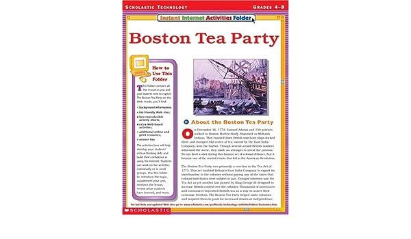 Instant Internet Activities Folder: Boston Tea Party: Terry Cooper ...