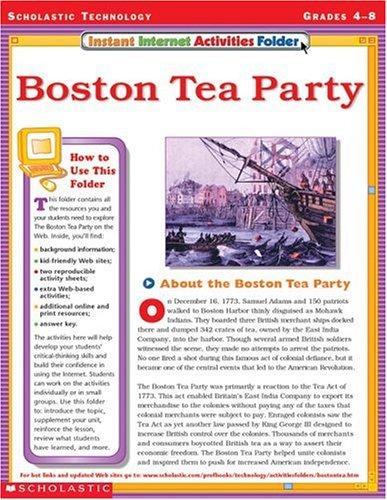 Boston Tea Party Worksheet - Worksheets