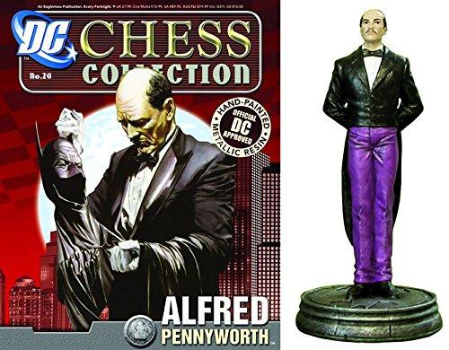 Figuren des Schachspiels Harz DC Comics Chess Collection Nº 26 AlfROT Pennyworth