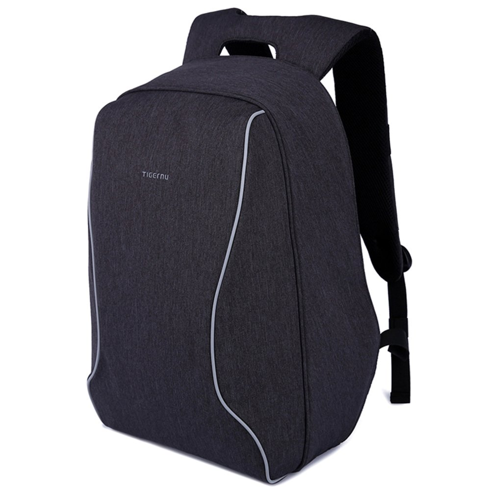 94b48c651f0d Amazon.com  Lightweight Laptop Backpack Anti Theft Shockproof Black  Computer Backpack ScanSmart TSA Friendly Water Resistant 14  Computers    Accessories