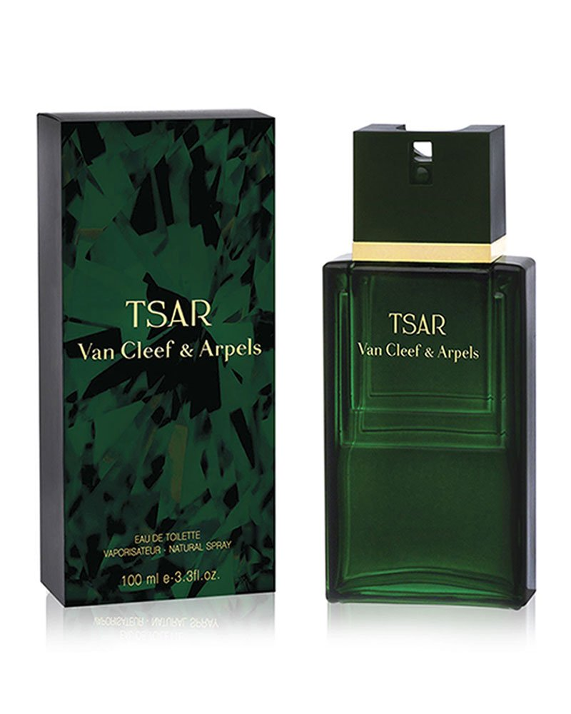 Van Cleef & Arpels Tsar Eau de Toilette Spray for Men, 3.3 Fluid Ounce