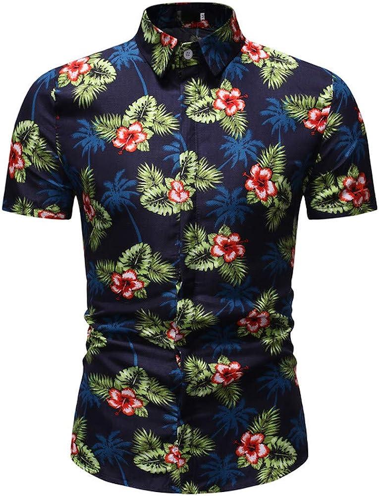 Cocoty-store 2019 Camisa Hawaiana de Manga Corta - para Hombre - Aloha Verano - Todas Las Tallas, M, UNA: Amazon.es: Ropa y accesorios