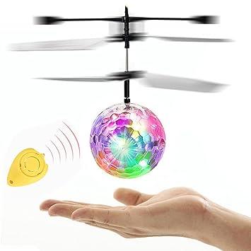 Fliegendes Spielzeug,OHQ LED Blinklicht Flugzeug Hubschrauber ...