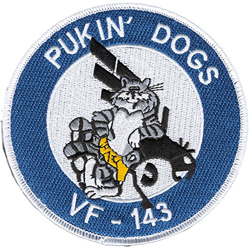 (VF-143 Fighter Squadron Patch Hook And Loop)