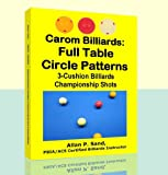Carom Billiards: Full Table Circle Patterns: 3-Cushion Billiards Championship Shots (English Edition)
