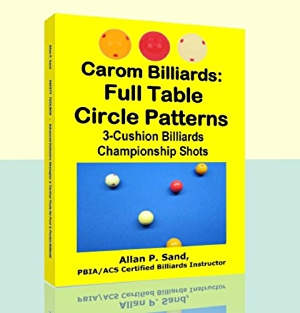 Carom Billiards: Full Table Circle Patterns: 3-Cushion Billiards Championship Shots