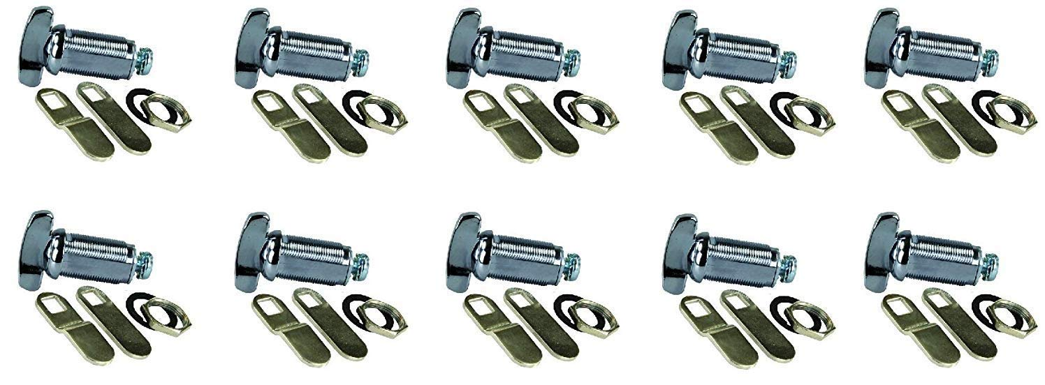 JR Products 00135 Deluxe Compartment Thumb Lock - 1-1/8'' (1 and 1/8 Inch (pack of 10))