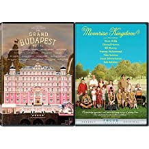 The Grand Budapest Hotel & Moonrise Kingdom 2 DVD Set Wes Anderson Films
