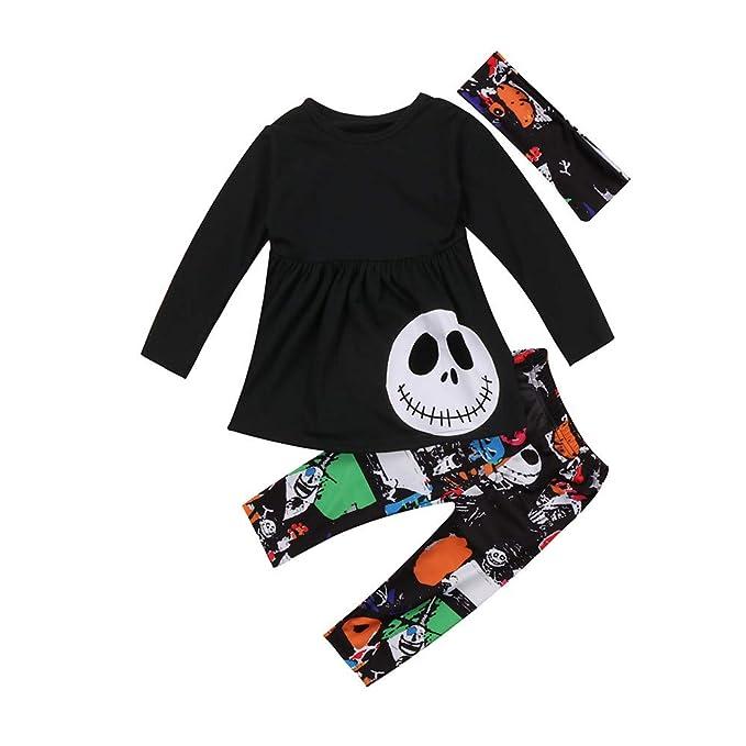 Wang-RX Niño Niños Niñas Ropa Trajes Vestido Fantasma Tops ...