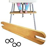 High Chair Footrest, Wooden Foot Rest for High Chair, Baby High Chair Footrest with Rubber Rings, Baby Highchair…