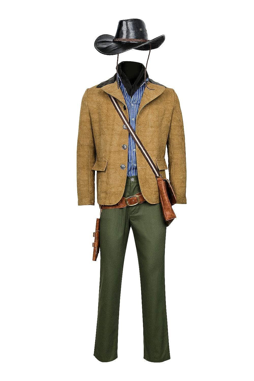 Amazon.com Partyever Red Dead Arthur Morgan Cosplay Costume