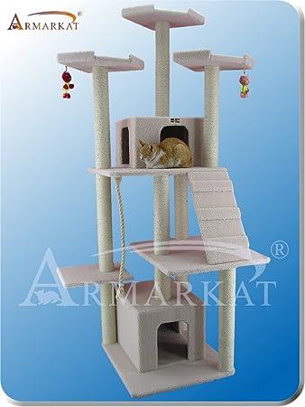 ARBOL para GATOS de ARMARKAT modelo CLASSIC FAUX FLEECE B8201