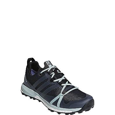 adidas outdoor Women's Terrex Agravic GTX¿ Carbon/Grey Three/Ash Green 7 B  US