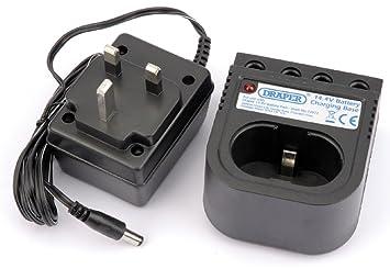 3-5 Hour Draper DRA24110 Spare 14.4V Battery Charger Blue