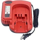 Biswaye 9.6V-24V Battery Charger BDFC240 Compatible with Black & Decker 18V 24V 14.4V 12V 9.6V Firestorm Battery HPB18-OPE HP