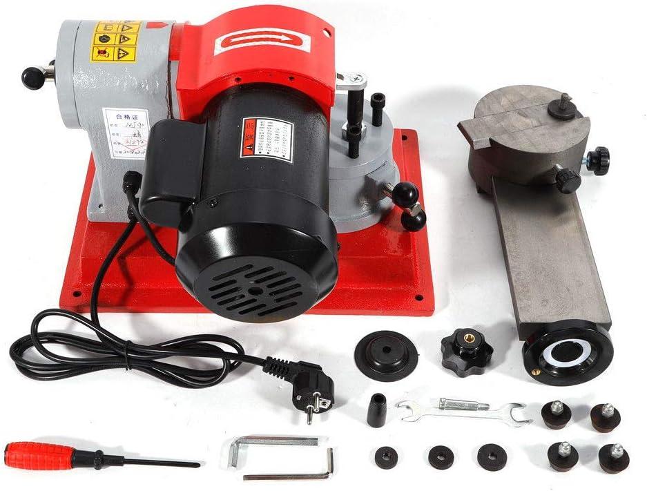OUKANING Afiladora al agua 250W Esmerilladora disco Afilador de hojas de sierra circular