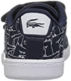 Lacoste Baby Carnaby EVO Sneaker, navy white