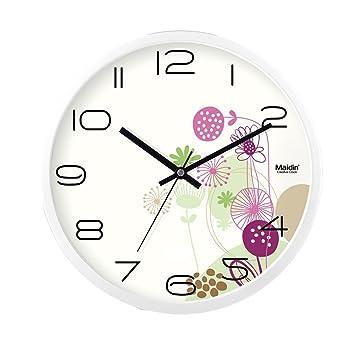 Hwh Le Mall Silent Horloge Murale Coffee Shop Aire De Jeux Pour