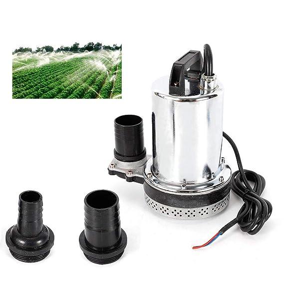 Hochleistungs Tauchpumpe 12V 24V bis 7200l//h Wasserpumpe Pumpe Fischzucht Fisch