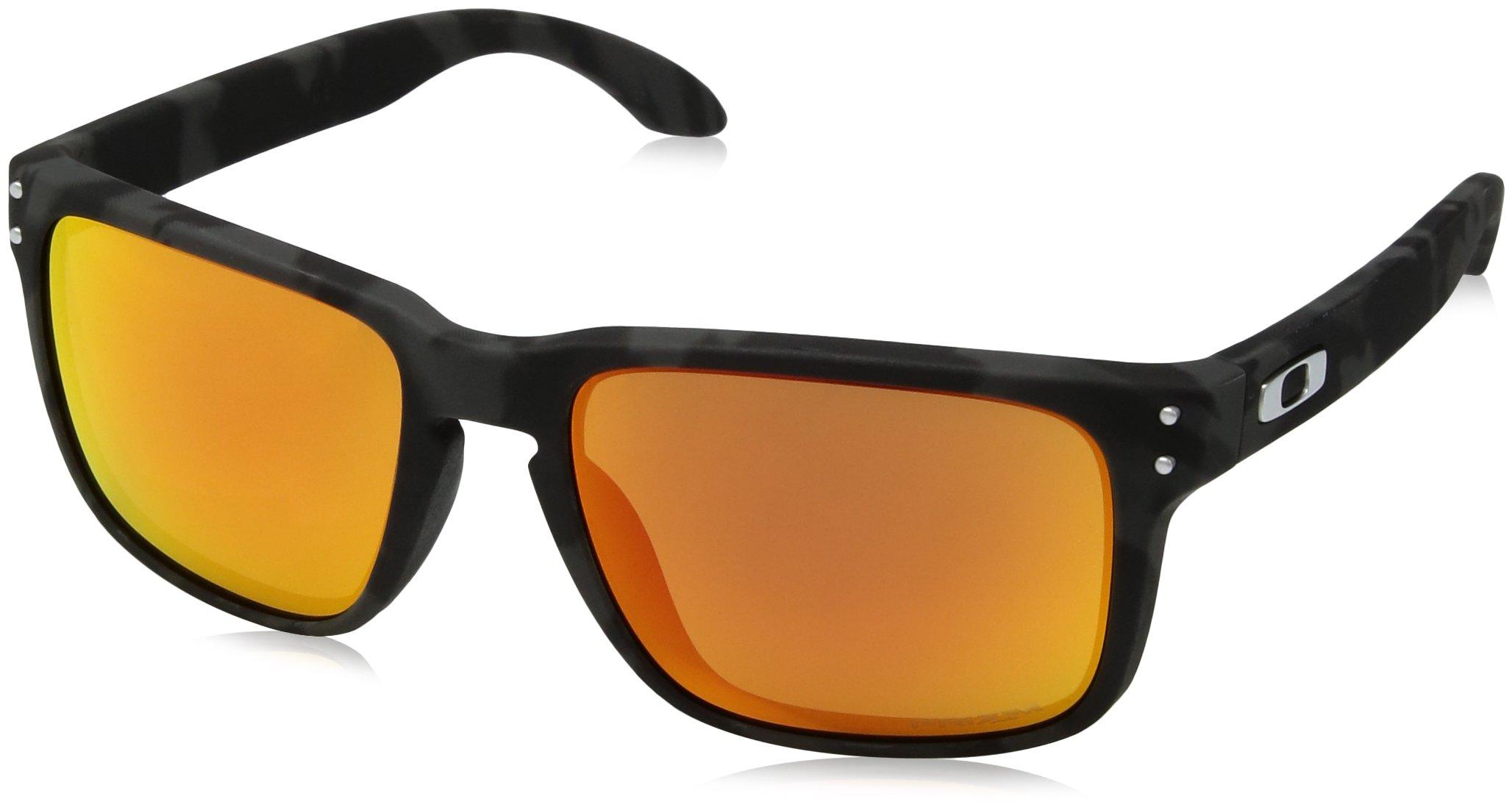 Oakley Men's Holbrook Sunglasses,Black Camo