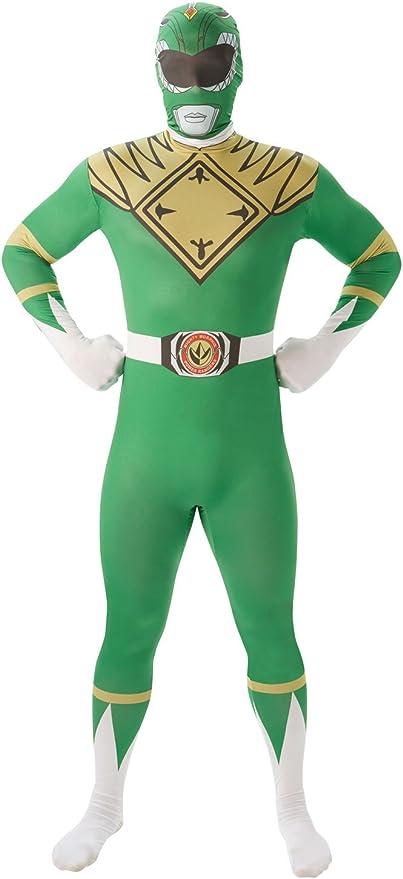 Rubies - Disfraz para Adulto, diseño de Power Ranger Verde: Amazon ...