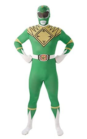 Rubies - Disfraz para Adulto, diseño de Power Ranger Verde: Amazon ...