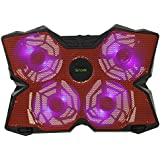 iKross 15 - 17 inch Gaming Laptop Powerful Cooling Pad with Four 140mm Fan at 1200 RPM