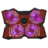 Laptop Cooling Pad, iKross 15-17inch Powerful Gaming Laptop Cooling Pad with Four 140mm Fan at 12000RPM
