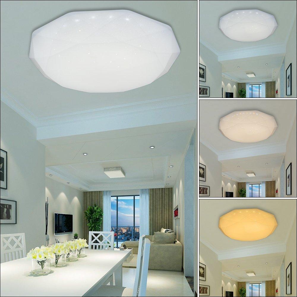 50W Farbwechsel 3in1 LED Deckenleuchte Badlampe Wandlampe Kinderzimmer Küche