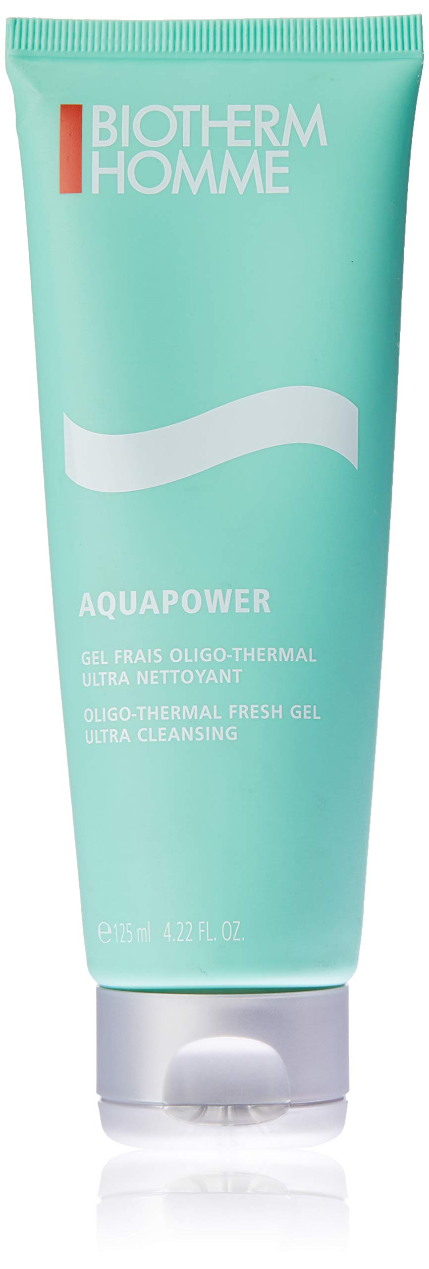 Biotherm Home Aqua Power Oligo-Thermal Fresh Ultra Cleansing Gel for Men, 4.22 Ounce