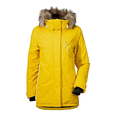 Didriksons Stacie Women Jacket - Winddichte Outdoorjacke 44 Sunburst ... b97cffabc3