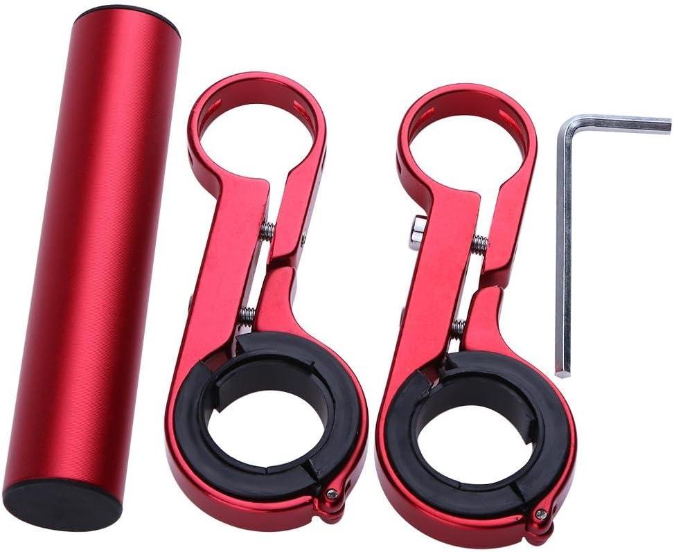 Sport Kamera oder Smartphones GPS-Ger/äte Everpert Doppel Mountain Fahrrad Taschenlampe Halter Lenker Fahrrad Zubeh/ör Extender Halterung f/ür Fahrrad Licht Tacho