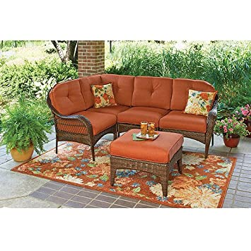 Better Homes And Gardens Azalea Ridge 5 Piece Sectional Sofa Set, Seats 4