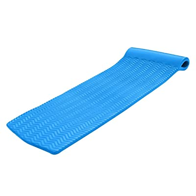 """Texas Recreation Serenity 1.5"""" Thick Swimming Pool Foam Pool Floating Mattress, Bahama Blue: Toys & Games"""