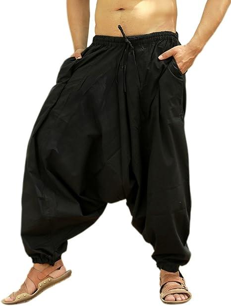 Amazon.com: Sarjana Handicrafts - Pantalones bohemios de ...