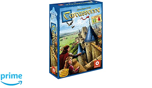 Asmodee - Juego de Estrategia Carcassonne, de 2 a 5 Jugadores ...