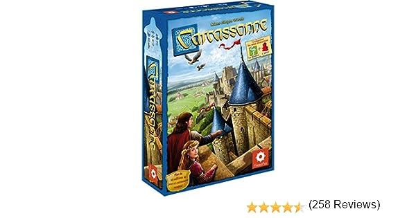 Asmodee - Juego de Estrategia Carcassonne, de 2 a 5 Jugadores (CARC01N) (versión en francés): Amazon.es: Juguetes y juegos