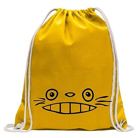 Kiwistar Vecino Totoro – Vecino Totoro Fun Mochila Deporte Bolsa de Remise en Forma Gymbag Shopping