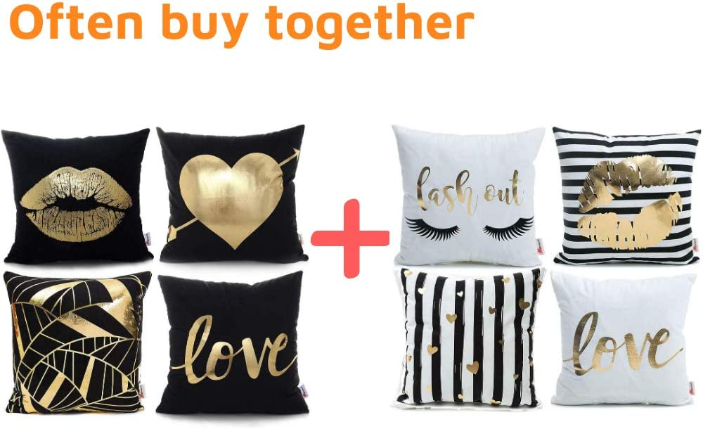 Black And Gold Decorative Pillows  from images-na.ssl-images-amazon.com