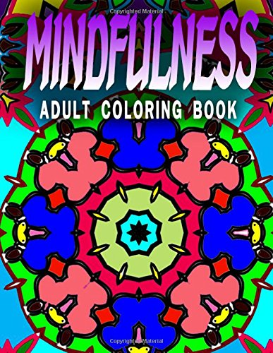MINDFULNESS ADULT COLORING BOOK - Vol.8: adult coloring books (Volume 27) [Charm, Jangle] (Tapa Blanda)