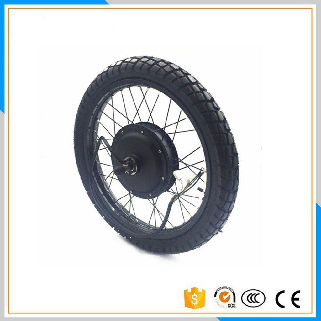 48V-96V 3000W 電動バイクハブモーターホイール 19インチ オートバイ 80/100-19タイヤ付き