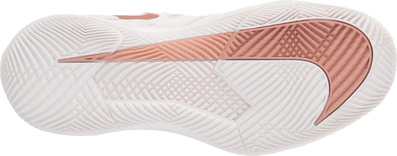 Nike Women's Air Zoom Vapor X Tennis Shoes Phantom/Mtlc Rose Gold-rose Gold