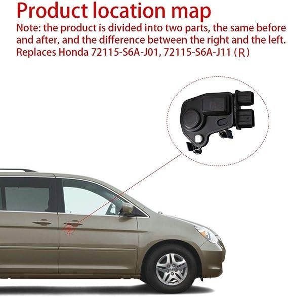 Door Lock Actuator Lift Left Driver Side Honda Accord Acura CRV Pilot Odyssey