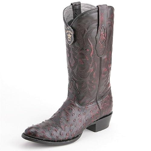 ad9e755003d LOS ALTOS BOOTS Mens EEL Round Toe Western Cowboy Boot