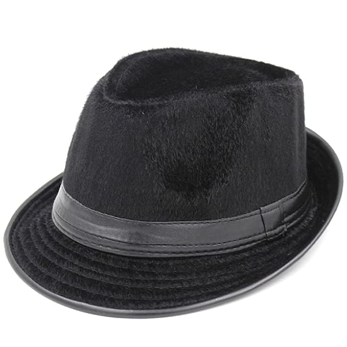 Korean wave of casual hats and caps  Men s British jazz hat  Black hat  female 6165b56a6a4