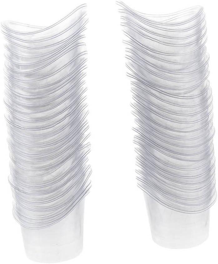 MERIGLARE Vaso de Lavado de Ojos Desechable de 100 Piezas