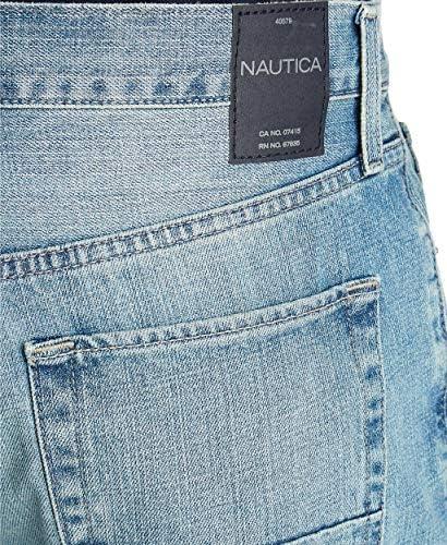 Nautica Men's Loose Fit 5 Pocket Jean Pant